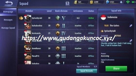 Update Akun Ml Gratis Level 30 Max Terbaru Gudang Akun Coc